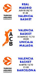 Próximo Partido: Madrid - Valencia